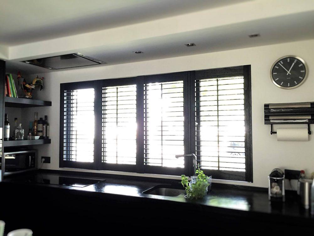 shutters van hout