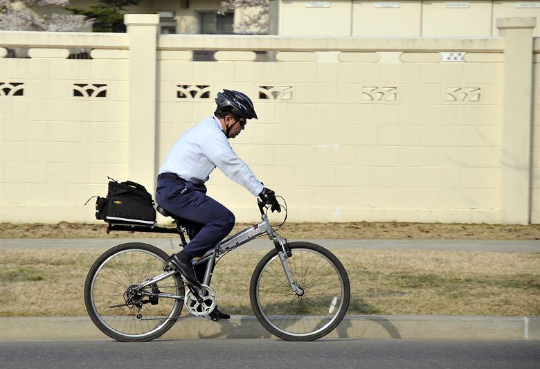 naar werk fietsen