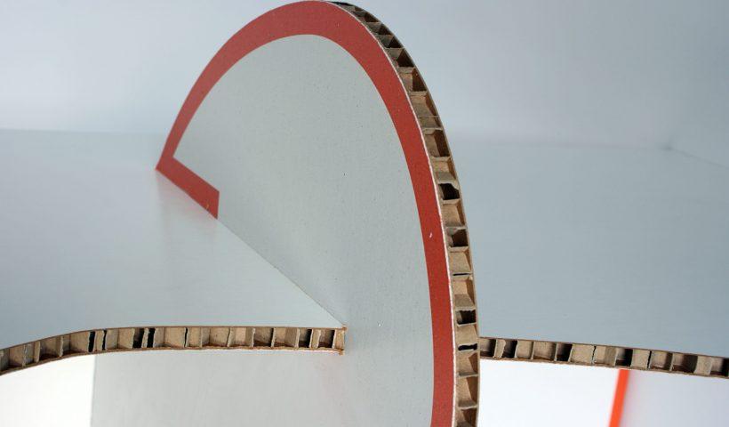 Ondernemers kiezen voor honingraatkarton meubels