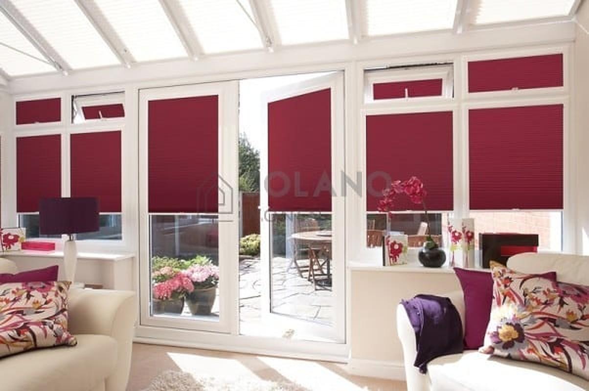 3x raambekleding voor openslaande deuren