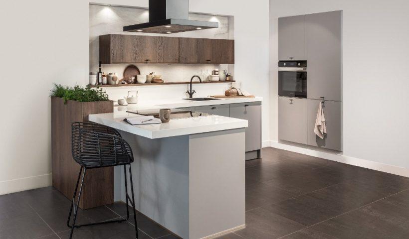 Meubel-inspiratie voor een moderne woonkeuken